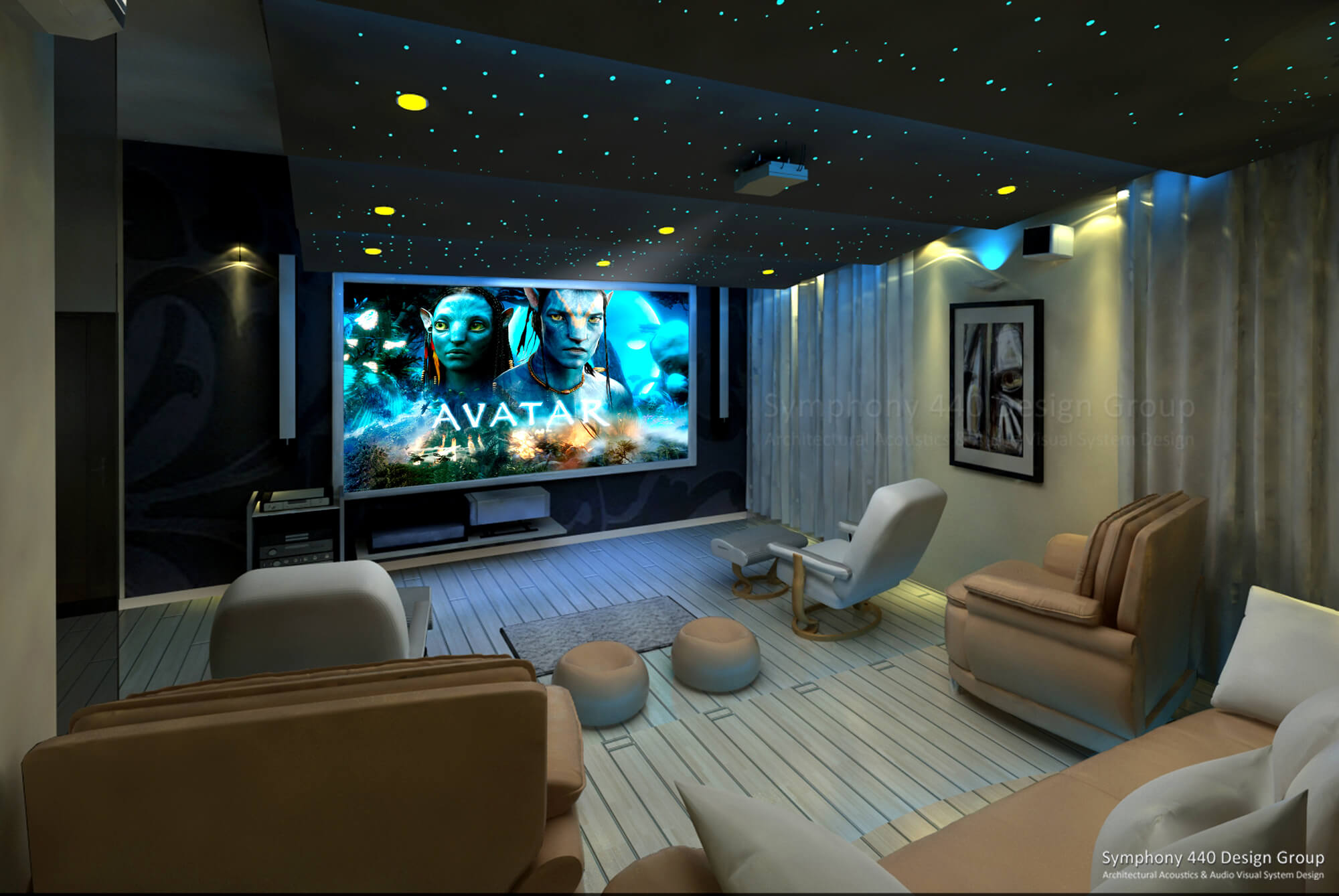 Home Theater Chikmagalurkarnataka. Symphony 440 DG | Architectural Acoustic  U0026 Audio Visual System Design